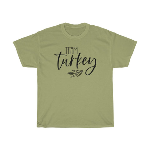 Thanksgiving Team Turkey Family T Shirt Plus Sizes Available