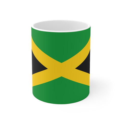 Jamaican Flag Mug 11 oz