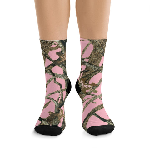 Ladies Pink Camo Socks Are Top Sellers