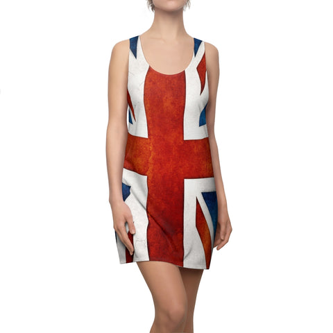 UK Flag Racer Back Dress Is Great For Summer Beach Etc