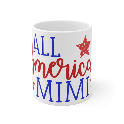 Mimi Mug 11oz All American Patriotic
