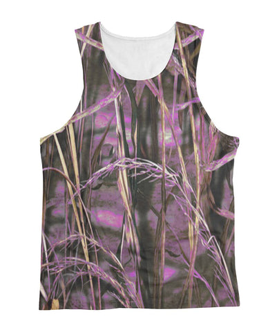 Camo Purple Marsh Tank Top Sublimation Tank