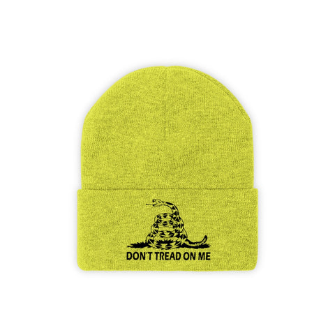 Don't Tread On Me Knit Beanie