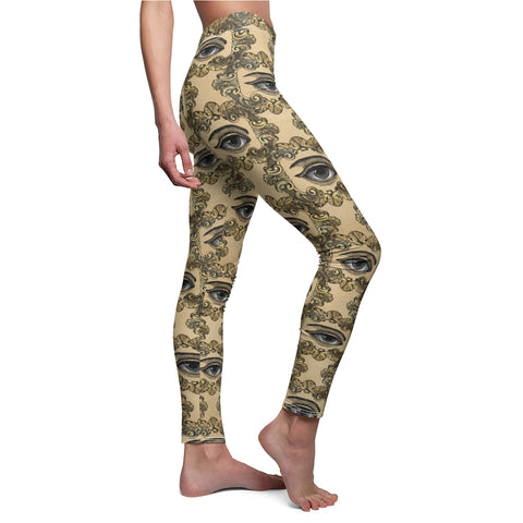 The Eye Steampunk Leggings For Women