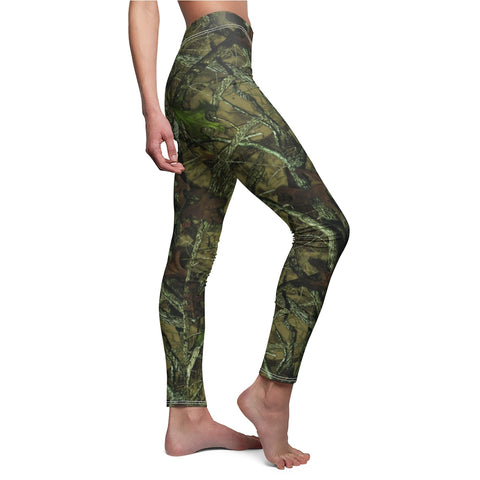 Ladies Camo Leggings Made In The USA