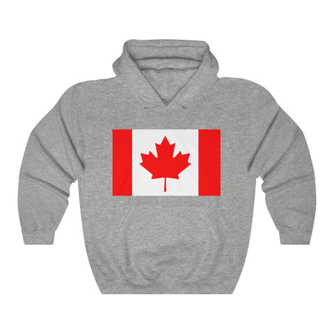 Canada Flag Hoodie Unisex Heavy Blend™ Hooded Sweatshirt Including Plus Sizes