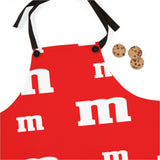 Red MM Apron