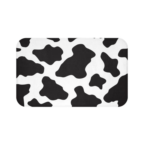 Cow Pattern Bath Mat