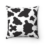 Cow Print Throw Pillows