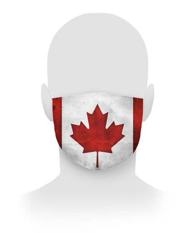 Canada Flag Face Covering Cloth Face Mask