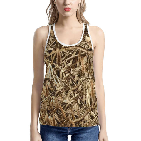 Women's Marsh Reed Camo Tank Top