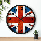 UK Flag Wall Clock