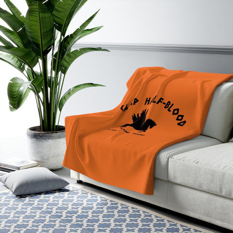 Percy Jackson Camp Half Blood Sherpa Fleece Blanket
