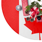 Canada Flag Christmas Tree Skirt