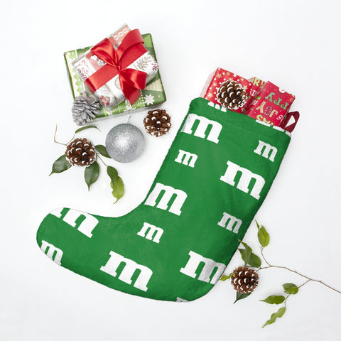 Green MM Christmas Stockings