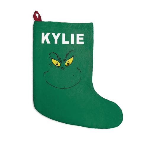 Custom Christmas Stockings With Names On Stink Stank Stunk
