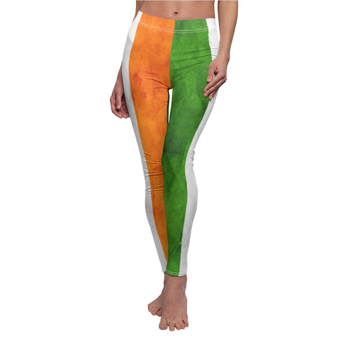 Irish Flag Grunge Leggings