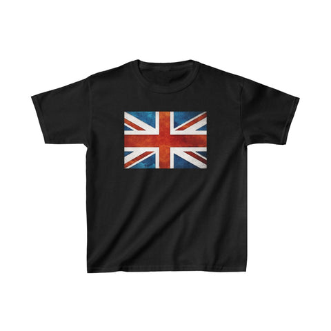 Uk Flag Kids Heavy Cotton™ Tee