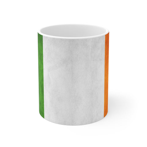 Grunge Irish Flag Mug 11 oz