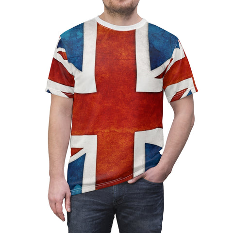 UK Flag All Over Print Shirt Premium Quality Unisex Sized