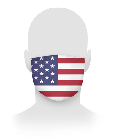 American Flag Facial Mask Cloth Face Mask