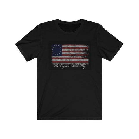The Original Flag For Rebels Tee Shirt with American Flag