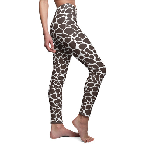 Premium Ladies Leopard Print Leggings For Exercise or Casual