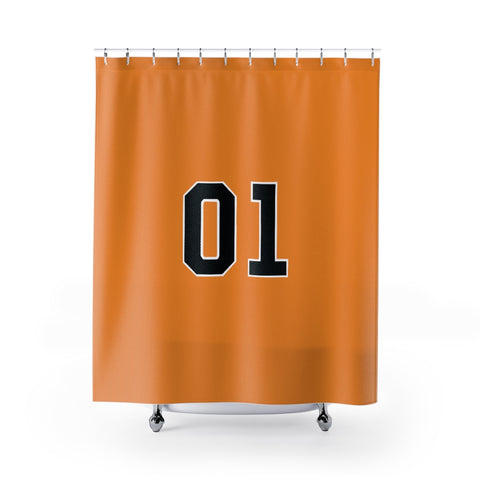 General Lee Shower Curtain 01