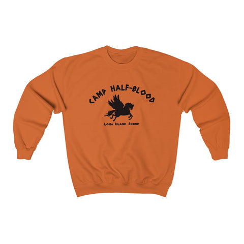 Camp Half Blood Crew Neck Sweatshirt for Men and Women Unisex