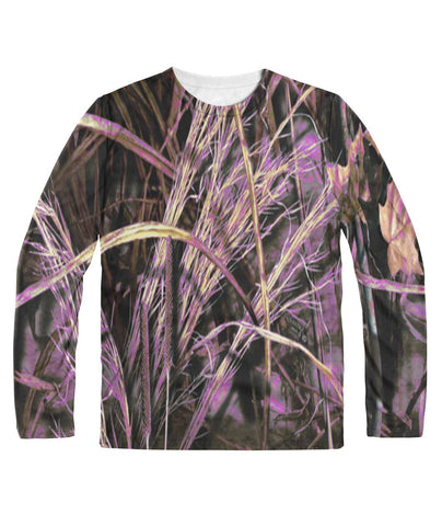 Camo Purple Marsh All Over Print Sublimation Long Sleeve