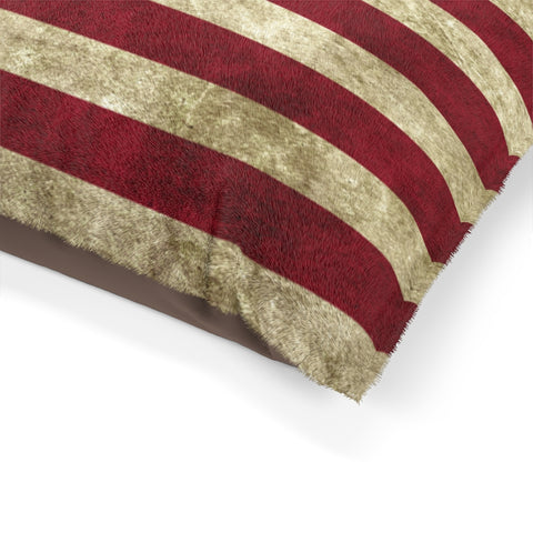 USA Flag Cat Bed