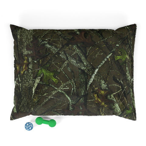 Camo Pet Bed with Hunting Pattern