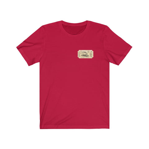 Train Ticket T Shirt From Grand Central To Union Station Vintage