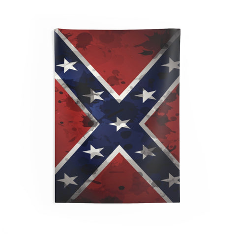 Rebel Flag Southern Indoor Wall Tapestries