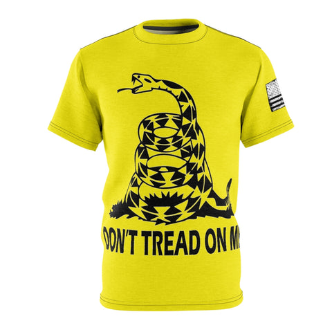 Gadsden Flag Don't Tread On Me Shirt With Black and White USA Flag