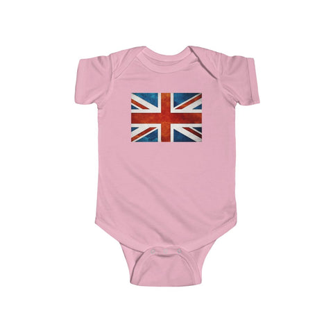 UK Flag Baby Onesie