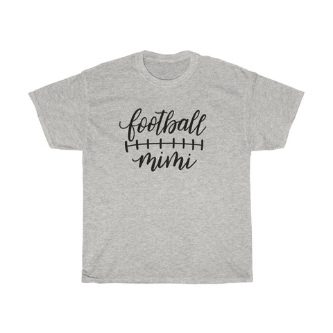 Football Mimi Unisex Sized T Shirt in Premium Cotton