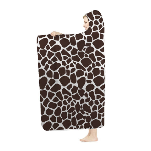 Leopard Print Hooded Blankets Are Super Comfy
