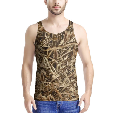 Marsh Camo Tank Top All Over Print up to 5x Size