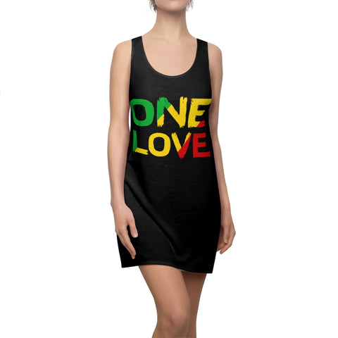 One Love Reggae Racer Back Dress