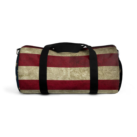 Copy of American Flag Duffel Bag Grunge Style