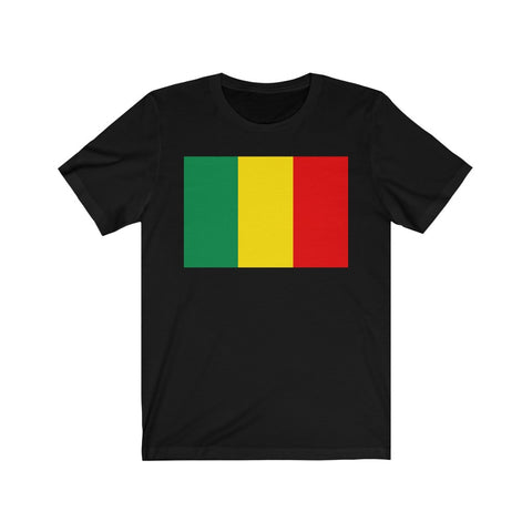 Reggae Flag T Shirt Premium for Women Or Men