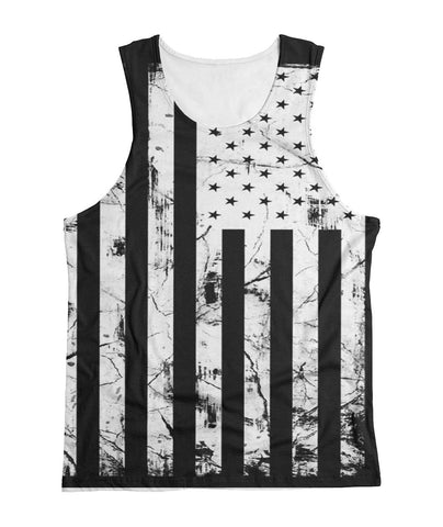 Black Flag All Over Print Tank Top Sublimation Tank