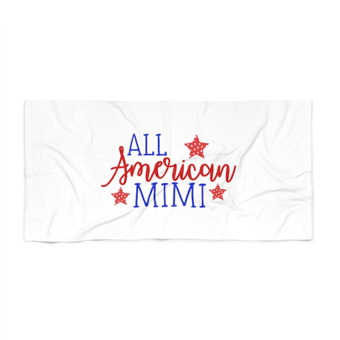 All American Mimi Beach Towel