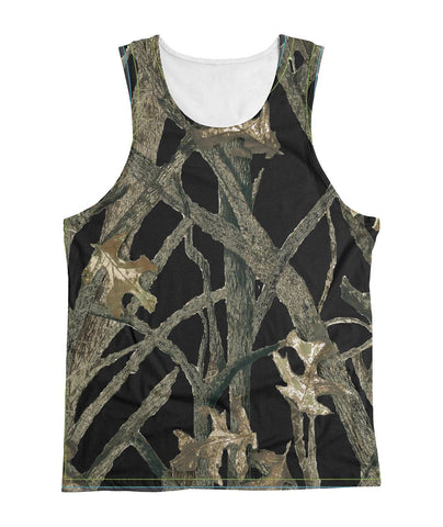 Black Camo Sublimated Tank Top Sublimation Tank