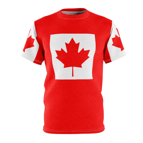 Canada Flag All Over Print Shirt Premium Unisex
