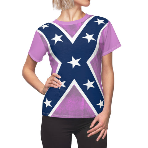 Pink Southern Ladies Rebel Pride Premium Shirt