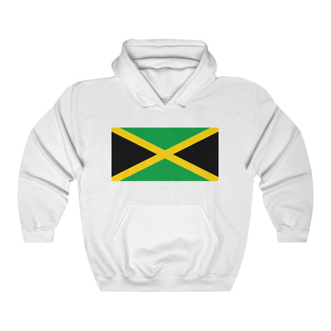 Jamaican Flag Hoodie Unisex Heavy Blend™ Hooded Sweatshirt Including Plus Sizes