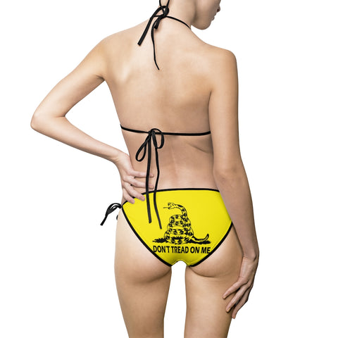 Don't Tread On Me Ladies Bikini Swimsuit