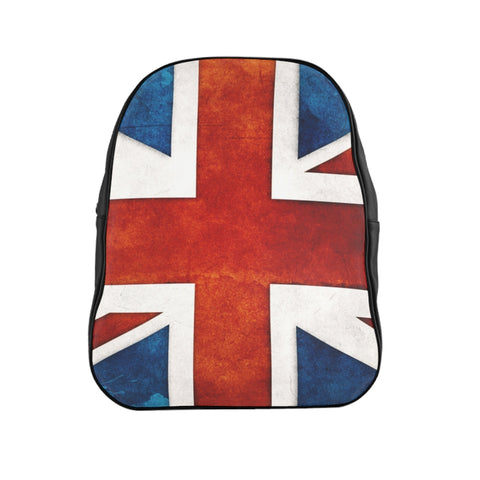Uk Flag School Backpack